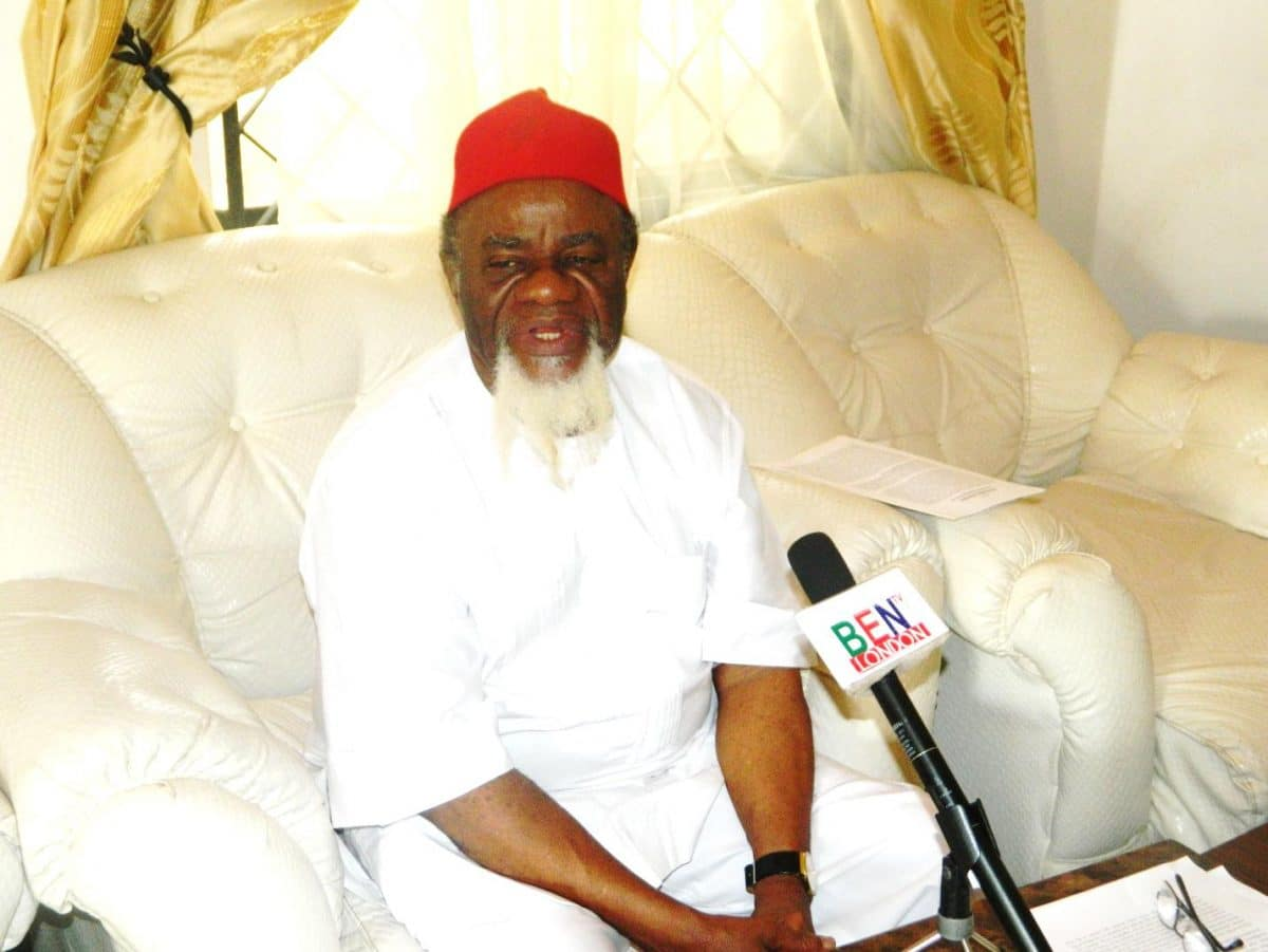 Photo of The Fulani will lose most for the disintegration of Nigeria – Former Governor of Anambra State