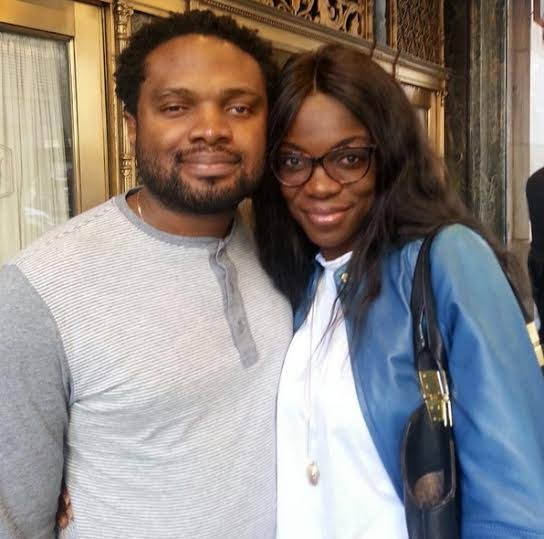 Photo of Cobhams Asuquo's Wife reveals their son was born blind.