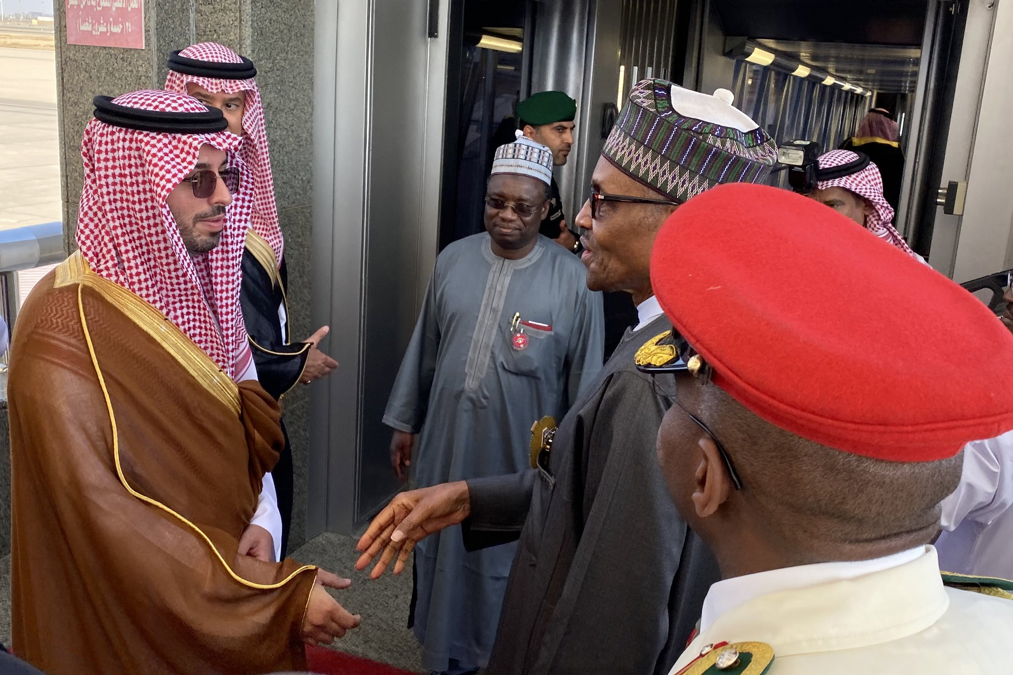Photo of Buhari departs Saudi Arabia for London