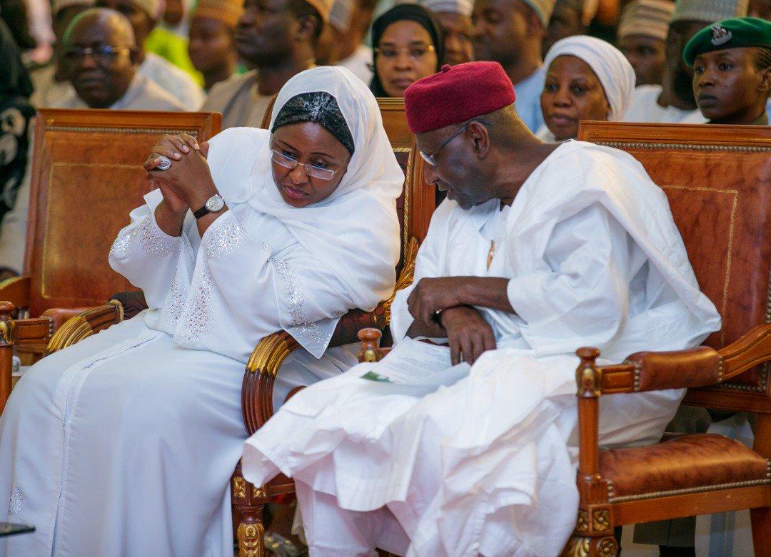 Photo of Aisha Buhari Hosts special Prayer for the Nation.