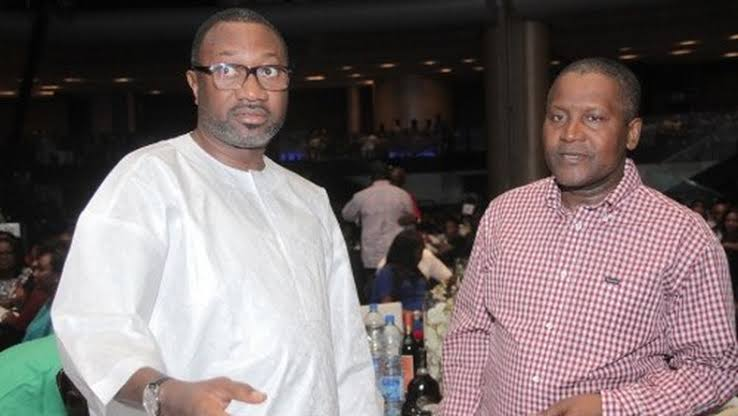 Photo of Otedola and Dangote Donate 5 billion and 100 million Naira respectively to the Dj Cuppy Foundation.