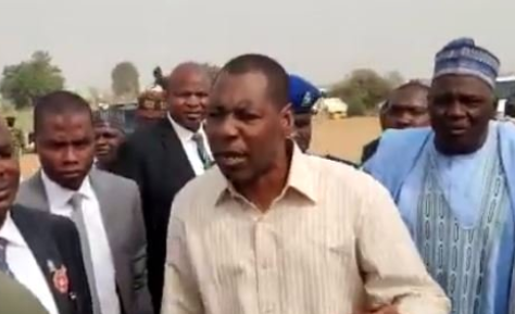 "Photo of Boko Haram is attacking People and you are here collecting N1000 per Car,"" Borno Governor to soldiers"