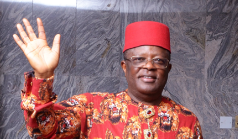 "Photo of ""I am the only Person that does anti-party and nothing will happen"" – David Umahi"
