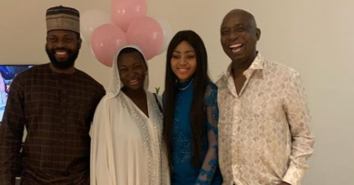 Photo of Jaruma gifts Regina Daniels' Mom N1m