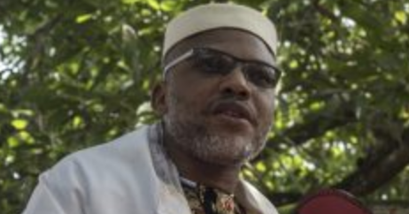 Photo of Nnamdi Kanu to attend Parents Burial