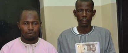 Photo of Currency Counterfeiters arrested by EFCC in Abuja