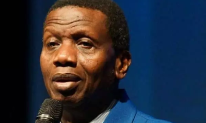Photo of Adeboye reacts to Abule-Egba Pipeline explosion.