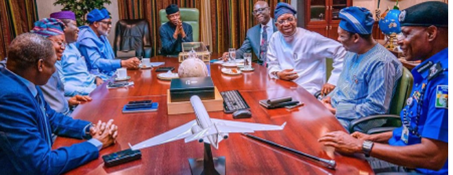 Photo of Amotekun: South-West Governors meet with Osinbanjo
