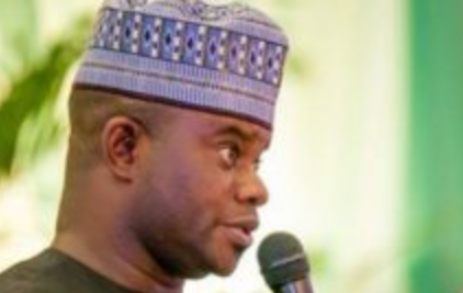 Photo of Yahaya Bello sworn-in for Second Term.