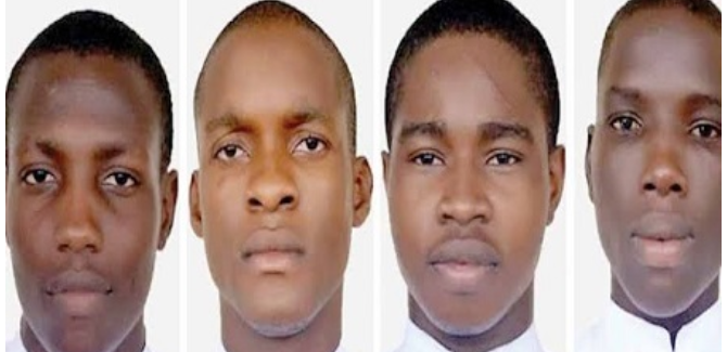 Photo of Three kidnapped Seminarians released, one still at large.