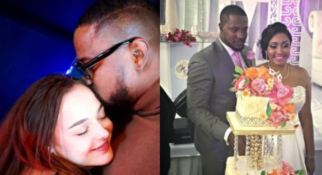 Photo of Mofe Duncan celebrates Valentine with his new Girlfriend as ex-wife reacts