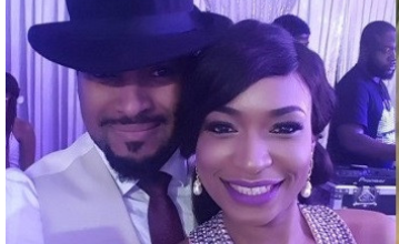 Photo of Actor Bryan Okwara welcomes first child with partner, Marie Miller