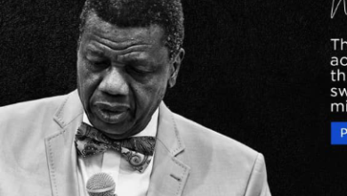 Photo of Don't Marry a Man who has no Job – Pastor Adeboye advises Women