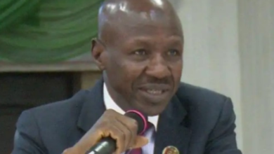 Photo of Buhari suspends Magu as acting EFCC Chairman