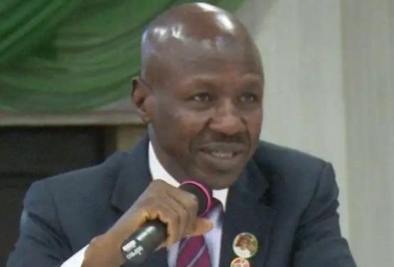 Buhari suspends Magu as acting EFCC Chairman 1
