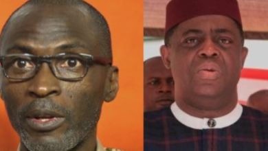 Photo of FFK blasts Ogundamisi for mockery over Metuh's conviction.