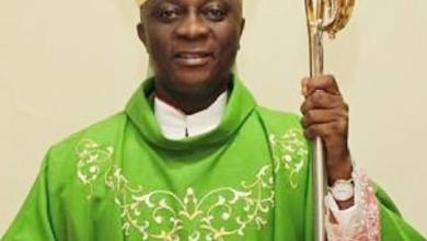 Photo of Covid-19: Lagos Catholic Church suspends Handshake, use of Holy Water
