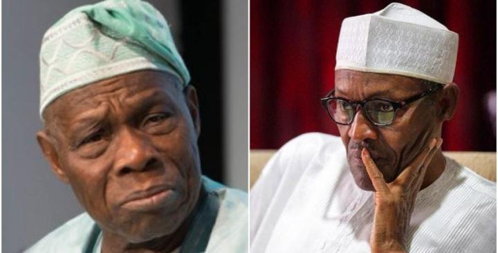 Nigeria may fall into Pieces - Obasanjo tells Buhari 1