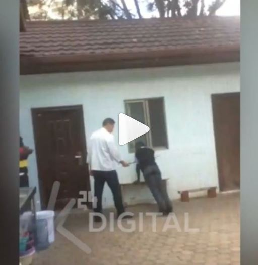 Photo of Video: 'Illegal' Chinese Citizen Who Flogged Kenyan Waiter For Reporting Late To Work In A Nairobi Restaurant Has Been Arrested