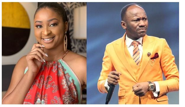 Etinosa Apologizes To Apostle Suleiman After Attacking Him Over His Bleaching Comment 3