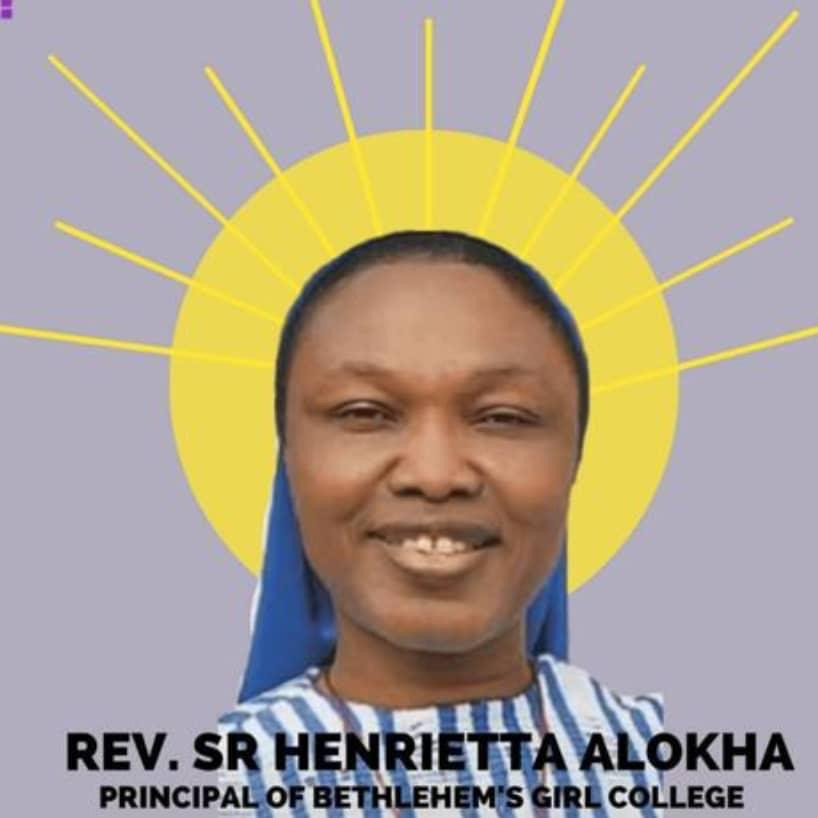 Photos from the burial ceremony of Reverend Sister Henrietta Alokha who died rescuing students in Abule Ado explosion 6