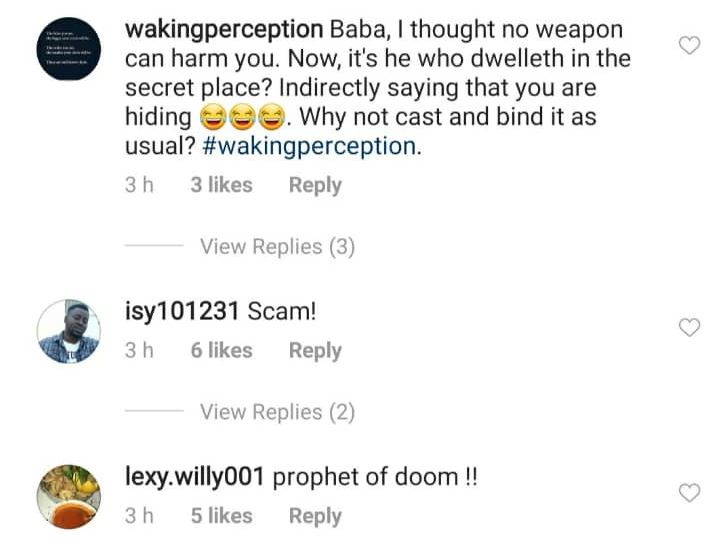 Nigerians Call Out Pastor Adeboye While Others Support Him For Saying ''As Long As You Are In The Secret Place Of The Most High, No Virus Will Come Near You'' While His Parishes Are Closing In America 8