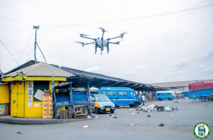 Ghanaian Authorities fumigate streets, markets as they battle Coronavirus pandemic (Photos) 10