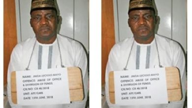 Photo of Adamawa Bishop sentenced to 5 years in prison for diverting N69million meant for Pilgrims welfare