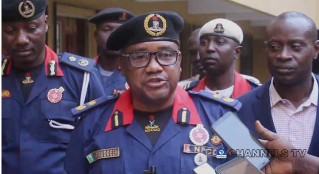 NSCDC warns Travellers not to move with Money 1