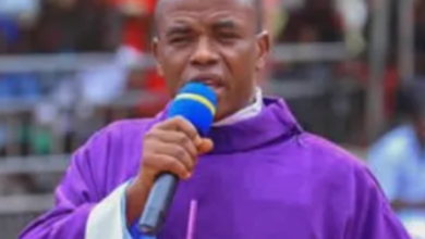 "Photo of ""I spend at least $2M every Month on Charity"" – Fr. Mbaka"