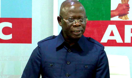 Edo Election: They have decided to focus on me, I'm not on the ballot - Oshiomhole 1