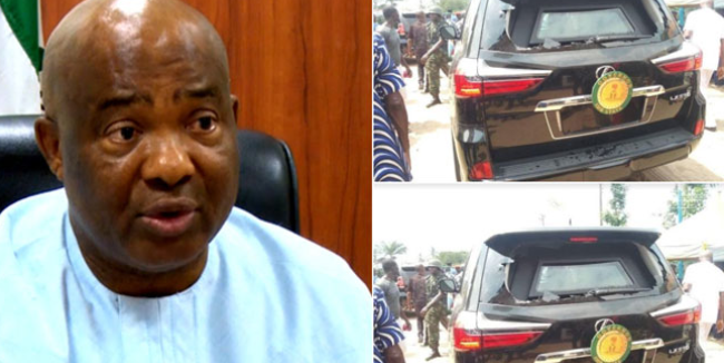 Angry Mob attack Uzodinma's Convoy 1