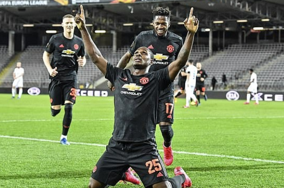 Man Utd moves to make Odion Ighalo Permanent Team Player. 1