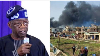 Photo of Abule Ado explosion: Those who have a Hand in it must be punished, no matter how highly placed – Tinubu