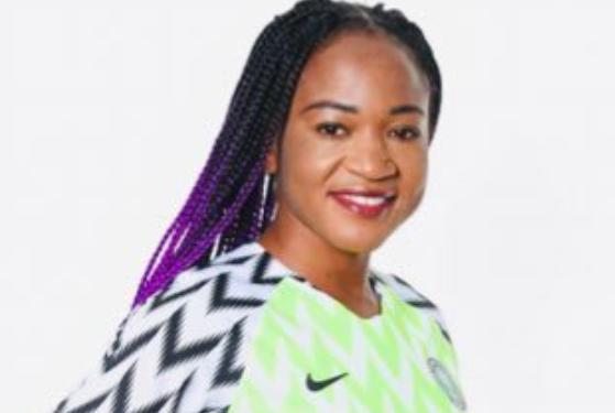 Nigerian Footballer, Francisca Ordega builds her Mum a House 3