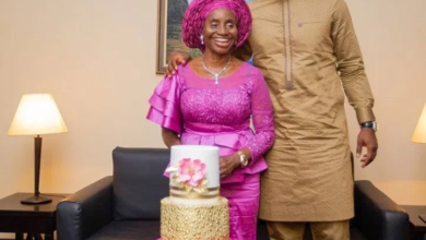 Photo of Joseph Yobo celebrates His Mother as she becomes a year older.