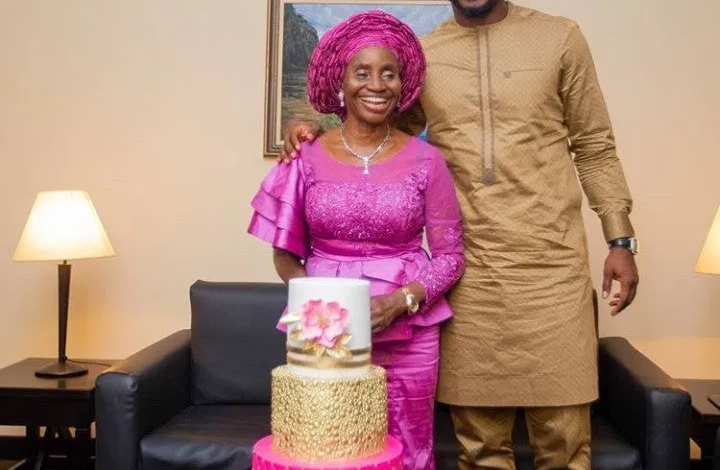 Joseph Yobo celebrates His Mother as she becomes a year older. 1