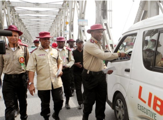 Use of Phones and Earphones while driving is an Offence - FRSC 1
