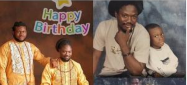 Daddy Showkey celebrates son as he becomes a year older 3
