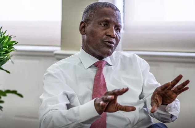 Abule-Ado explosion: Dangote donates N100M worth of Cement for reconstruction 1