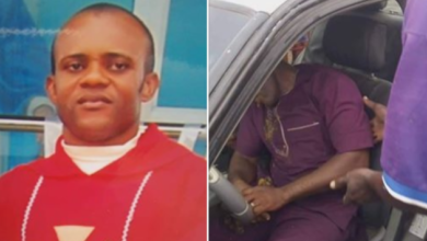 Photo of Catholic priest Found dead in his Car