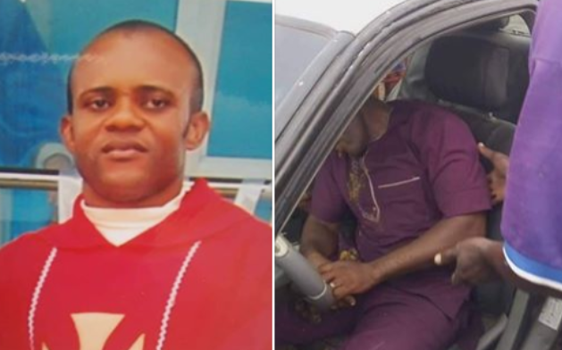 Catholic priest Found dead in his Car 1