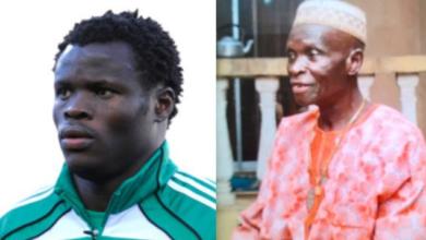 Photo of Nigerian Footballer, Taiye Taiwo loses Dad