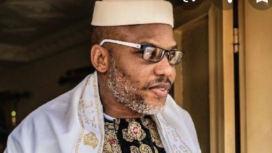 Photo of Nnamdi Kanu makes revelation on whereabout of Buhari and Abba Kyari