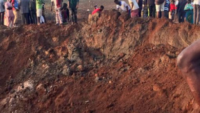 Photo of Explosion in Akure as 100 Houses destroyed