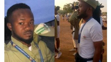 Photo of Corps member dies after complaining of stomach pain