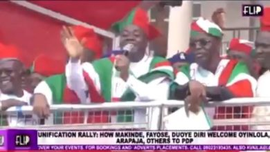 Photo of Video of Gov Seyi Makinde mocking Coronavirus at a PDP rally days before he tested positive surfaces