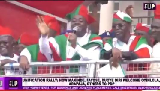 Video of Gov Seyi Makinde mocking Coronavirus at a PDP rally days before he tested positive surfaces 1