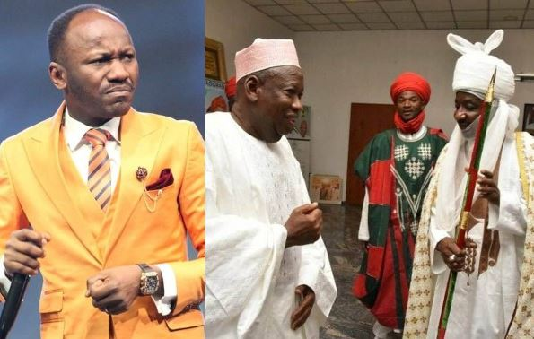 Disrespecting a governor is not a criminal offence - Apostle Suleman questions Sanusi's detainment after being dethroned 3
