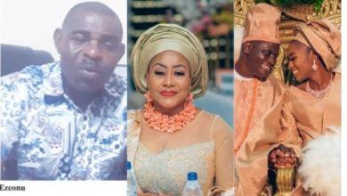 Photo of Ngozi Ezeonu married off my daughter without my consent after crashing our marriage – Ex-Husband Edwin Ezeonu